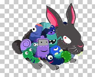 European Rabbit Chinese Zodiac Illustration PNG