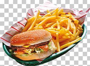 Hamburger French Fries Fast Food Cheeseburger Buffalo Burger PNG