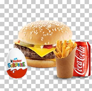 Hamburger Cheeseburger McDonald's Quarter Pounder French Fries Fast Food PNG