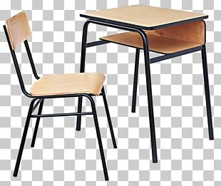 Table Student Desk Office Chair Furniture PNG