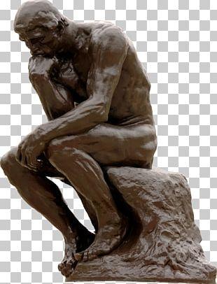 The Thinker Sculpture Art PNG