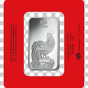 PAMP Gold Bar Bullion Precious Metal Silver PNG