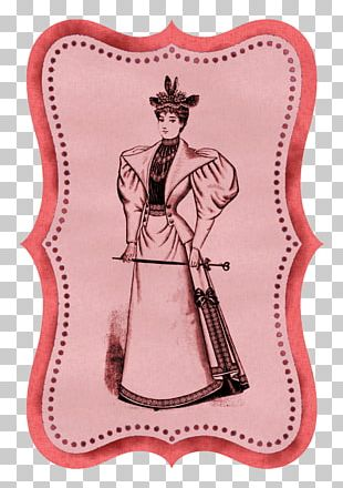 Paper Vintage Clothing Craft PNG