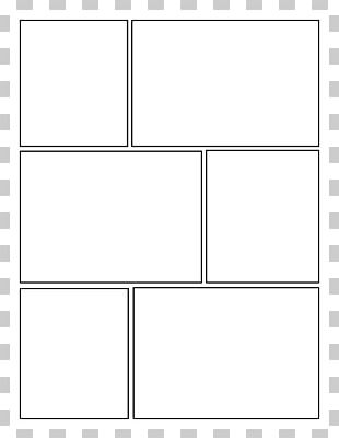 Comic Book Comic Strip Panel Comics Template PNG