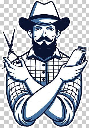 Barbershop Hairstyle Shaving Beard PNG