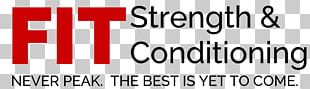 Albany FIT Strength & Conditioning Brand Logo Font PNG