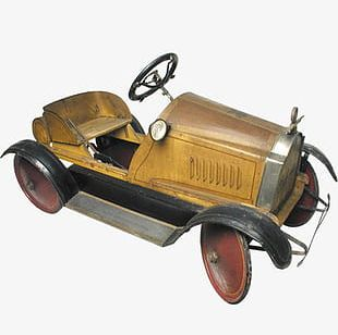 Vintage Toy Car PNG