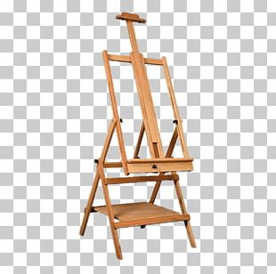 Easel Art Painting Pastel PNG