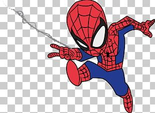 Spider-Man Deadpool Drawing PNG