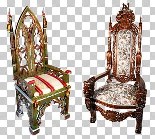 Table Chair Throne Couch PNG