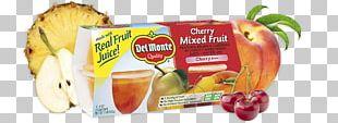 Apple Fruit Cup Juice Fruit Snacks Del Monte Foods PNG