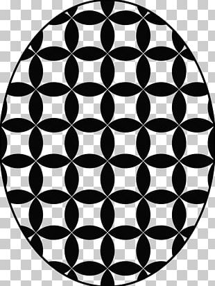 Geometry Circle Ornament Pattern PNG