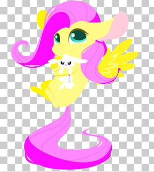 Fluttershy Equestria Cartoon PNG
