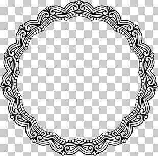 Frames Oval Retro Style Vintage PNG