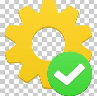 Text Symbol Circle Yellow PNG