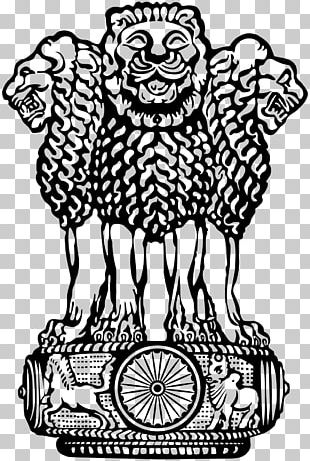 Lion Capital Of Ashoka Sarnath Pillars Of Ashoka State Emblem Of India National Symbols Of India PNG