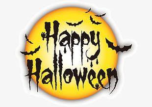 Happy Halloween Alphabet PNG