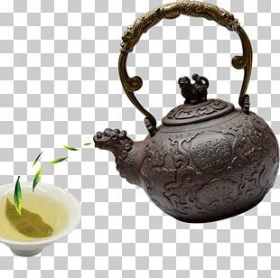 Teapot Green Tea Yum Cha Tea Culture PNG