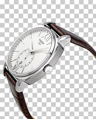 Watch Tissot Chronograph Strap Valjoux PNG