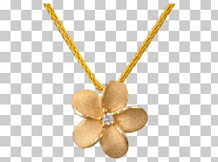 Necklace Jewellery Colored Gold Diamond PNG