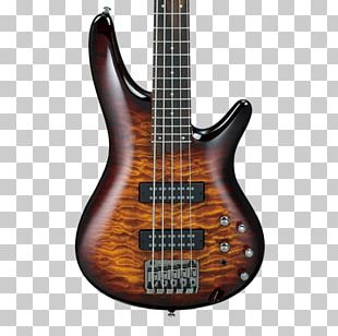 Bass Guitar Ibanez String Instruments PNG