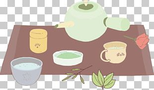 Green Tea Yum Cha Teaware PNG