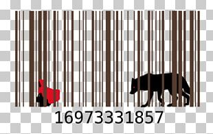 Barcode Paper Label Drawing PNG