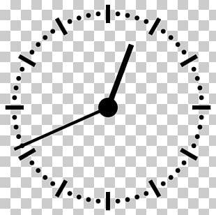 Digital Clock 12-hour Clock PNG