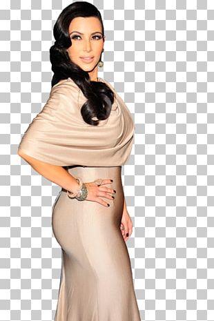 Kim Kardashian Socialite Celebrity Model Fashion PNG