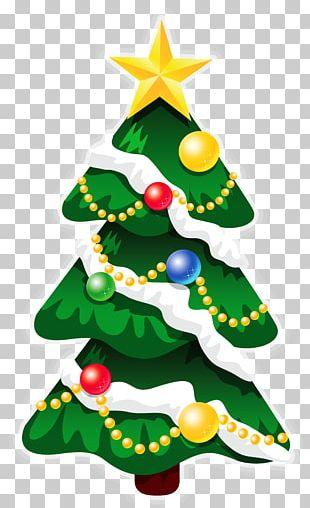 Rudolph Santa Claus Christmas Day Christmas Tree PNG