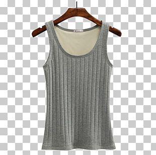 Gilets Sleeveless Shirt Dress Neck PNG