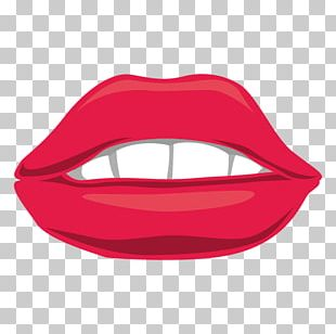 Mouth Smile Lip Red PNG