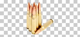 Full Metal Jacket Bullet .30-06 Springfield .308 Winchester Ammunition PNG
