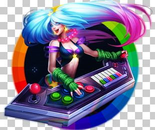League Of Legends DJ Sona Video Game Smite Arcade Game PNG
