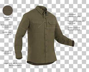 Sleeve Dress Shirt Button Clothing PNG