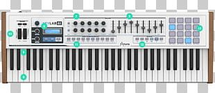 ARP 2600 Arturia Sound Synthesizers MIDI Keyboard MIDI Controllers PNG