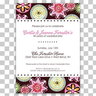 Wedding Invitation Baby Shower Party Baby Announcement Bridal Shower PNG
