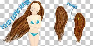 Long Hair Hair Coloring Homo Sapiens Wig PNG