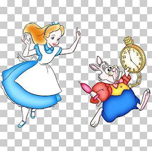 Alice's Adventures In Wonderland White Rabbit Tweedledum The Mad Hatter PNG
