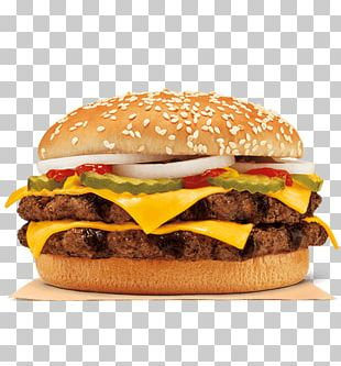 McDonald's Quarter Pounder Whopper Hamburger Fast Food Burger King PNG