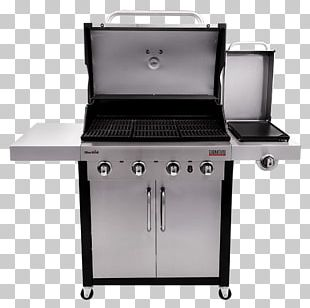 Barbecue Grilling Gas Burner Char-Broil Signature 4 Burner Gas Grill PNG