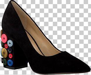 Footwear High-heeled Shoe Suede Pump PNG