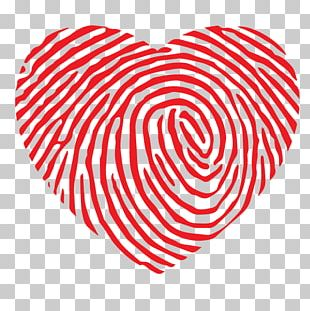 Graphics Heart Fingerprint Illustration Computer Icons PNG