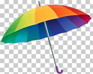 Umbrella Rainbow PNG