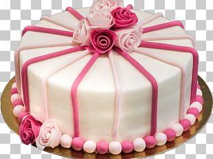 Birthday Cake Torte Marzipan Buttercream Red Velvet Cake PNG