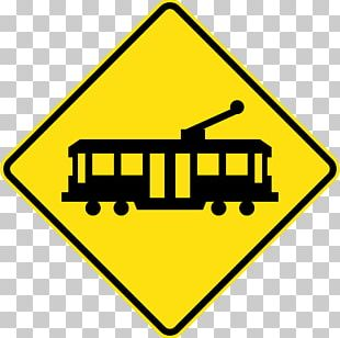 Bus Tram Stop Sign Traffic Sign Warning Sign PNG