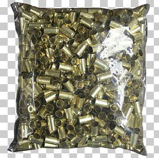 Brass Cartridge .45 ACP Full Metal Jacket Bullet Ammunition PNG