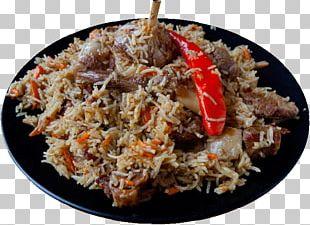 Fried Rice Pilaf Biryani Asian Cuisine Lamb And Mutton PNG