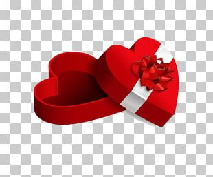 Gift Love Heart Valentine's Day PNG