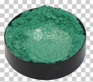 Green Pigment Powder Pearl PNG